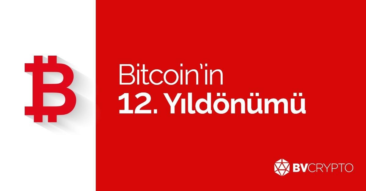 Bitcoin'in 12. yıldönümü